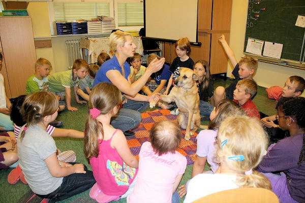 Verhaltensseminare für Kinder um den sicheren Umgang mit Hunden zu erlernen