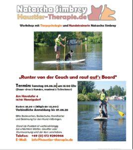 Stand-Up Paddling Seminar @ Hundeplatz